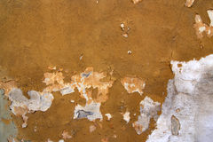 Cracked Stucco - Grunge Background Royalty Free Stock Photos