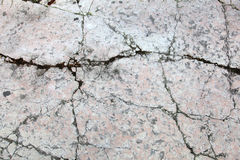 Cracked surface Royalty Free Stock Photo
