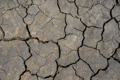 Cracked surface of earth as good background Stock Images