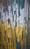 Cracked surface oil paint Royalty Free Stock Photography