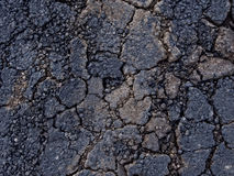 Cracked tarmac texture background Royalty Free Stock Images