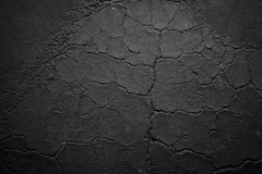 Dark cracked wrinkled texture Stock Photos