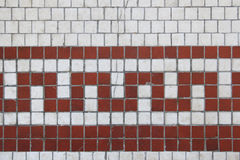 Cracked tile design Royalty Free Stock Images