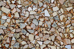 Cracked tiles Stock Photos