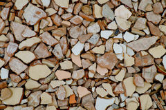 Cracked tiles Royalty Free Stock Images