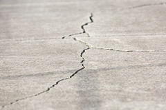 Cracked Walkway Royalty Free Stock Image