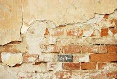Cracked Wall Royalty Free Stock Photos