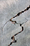 Cracked Wall. Part of Cracked Brick Wall Stock Photography