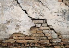 Free Cracked Wall Royalty Free Stock Photography - 26907