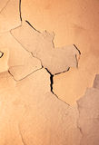 Cracked wall Royalty Free Stock Images