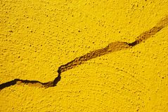 Cracked wall Stock Photography