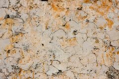 Cracked wall background. Background with old cracked wall Royalty Free Stock Photos