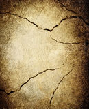 Cracked wall background Stock Photos