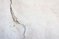 Cracked wall. Cracked wall background for general construction, renovation stock photography