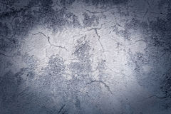 Cracked wall and floor Royalty Free Stock Photo