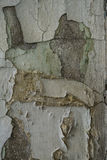 The cracked wall of the old building.  Royalty Free Stock Image