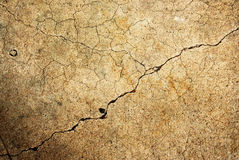 Cracked wall Stock Images