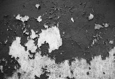 Cracked wall and paint. Royalty Free Stock Photography