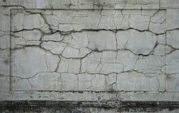 Cracked wall panel Stock Photos