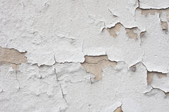 Cracked wall texture Stock Images