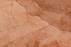Cracked wall texture background Stock Image