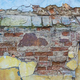 Cracked wall texture Royalty Free Stock Photography