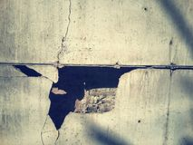 Cracked walls Royalty Free Stock Images