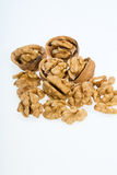 Cracked walnut Royalty Free Stock Photography
