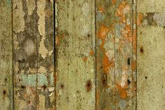 Cracked and weathered paint Stock Photography