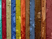 Cracked Wood Background Royalty Free Stock Image