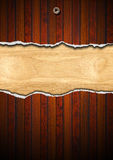 Cracked Wooden Background Stock Images