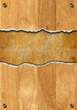 Cracked Wooden Background Royalty Free Stock Photo