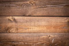 Free Cracked Wooden Background. Horizontal Lines On Wood Fence. Vintage Rustic Pattern For Decoration Design. Brown Desk. Timber Plank, Royalty Free Stock Photos - 158413338