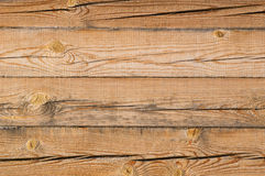 Cracked wooden bar wall Royalty Free Stock Photography