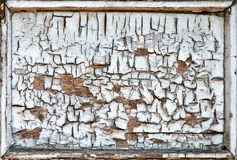 Cracked wooden frame texture Royalty Free Stock Image