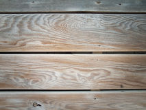 Cracked wooden planking Stock Photography
