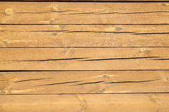 Cracked wooden planks. background. Royalty Free Stock Image