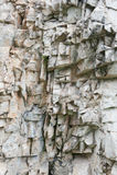 CrackedStone Στοκ Εικόνες