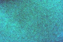 Crackeled blåttbakgrund Royaltyfri Bild