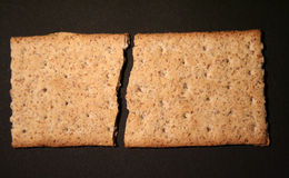 Cracker immagine stock