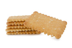 Cracker balance Royalty Free Stock Images