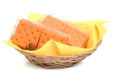A cracker basket Royalty Free Stock Photo