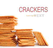 Cracker or biscuit Stock Photography