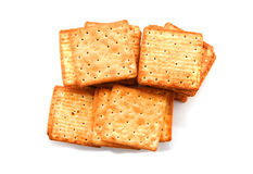 Cracker or biscuit Stock Photo