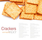 Cracker or biscuit Royalty Free Stock Photo