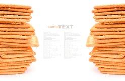 Cracker or biscuit Stock Photo