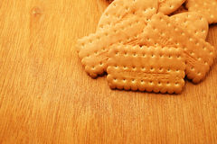 Cracker and biscuit Royalty Free Stock Photos