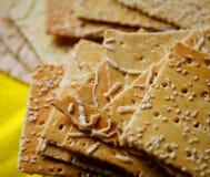 Cracker biscuits Stock Photos