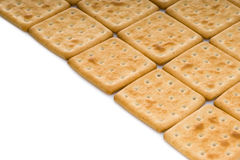 Cracker biscuits Royalty Free Stock Image