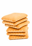 Cracker biscuits Stock Images